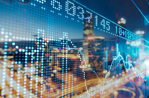 grandes volúmenes de datos financieros